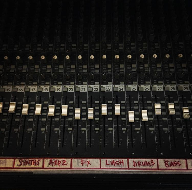Bates Belk Mixing Console New Album